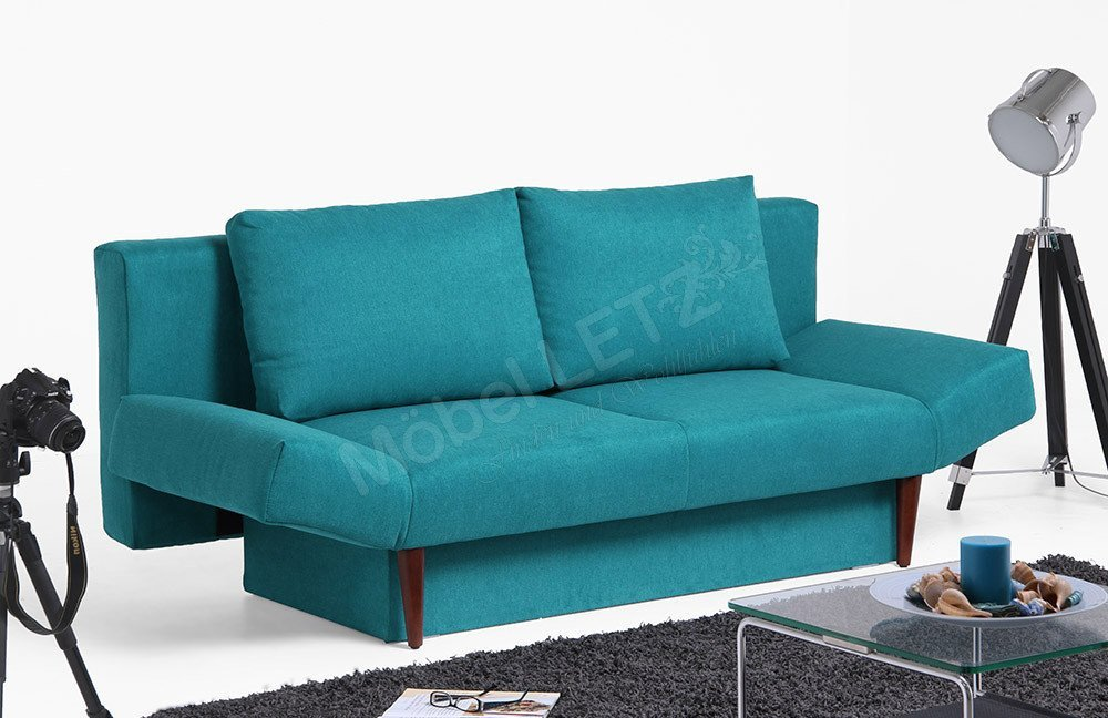 schlafsofa emden von select style in t rkis m bel letz. Black Bedroom Furniture Sets. Home Design Ideas