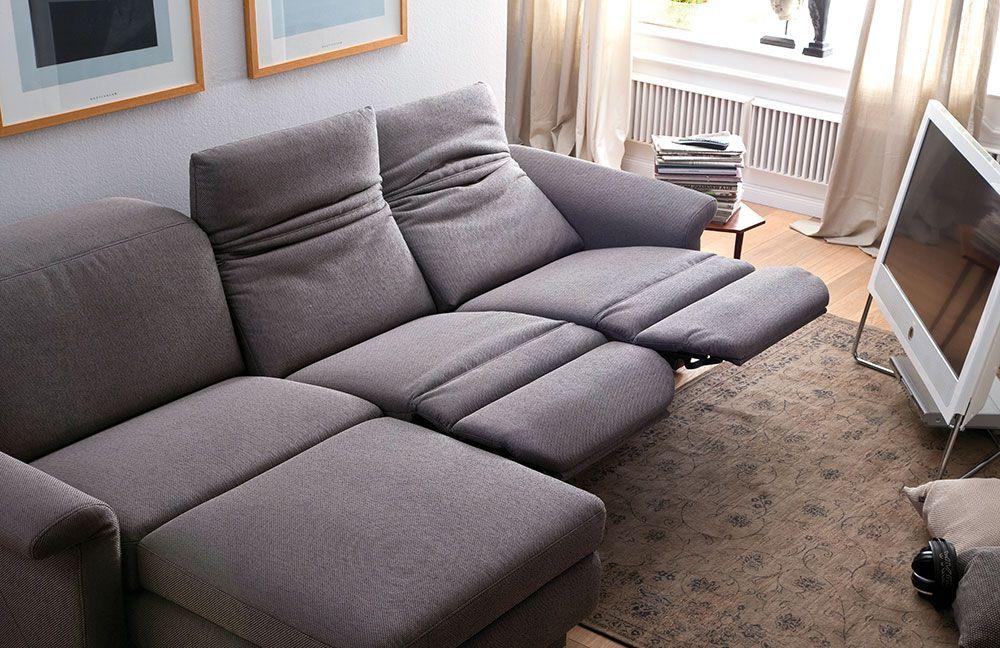 Casada Polstergarnitur Claude grau | Möbel Letz - Ihr Online-Shop