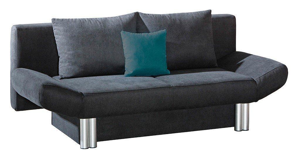 schlafsofa bremen von select style in anthrazit m bel letz ihr online shop. Black Bedroom Furniture Sets. Home Design Ideas
