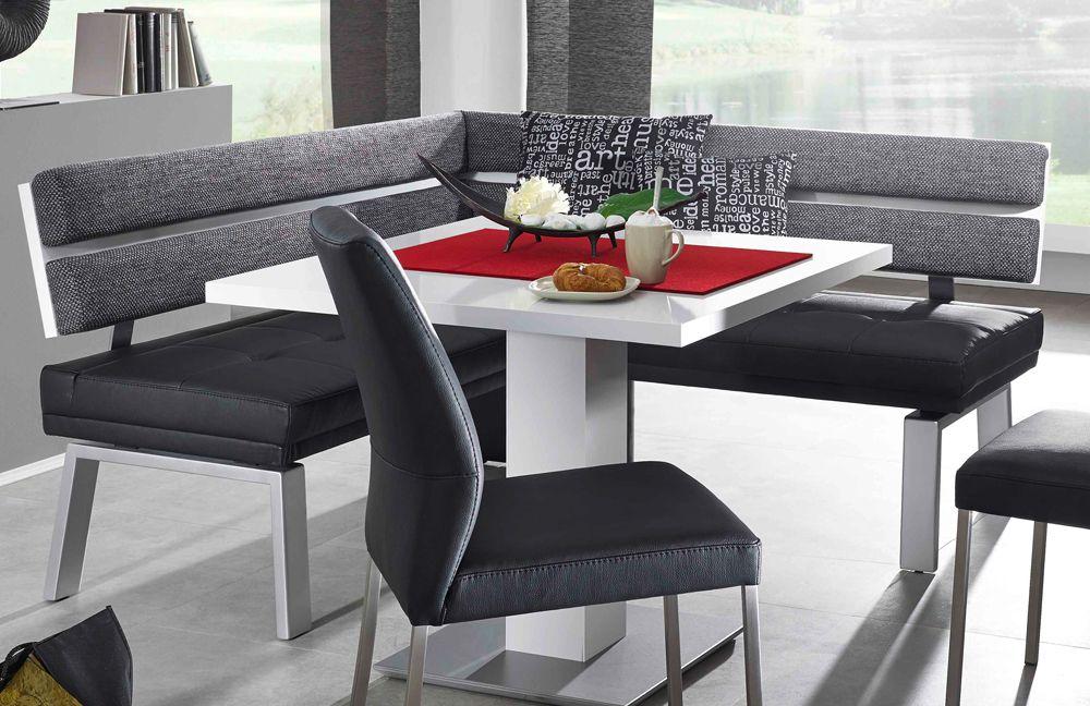 Eckbankgruppe weiß grau  Eckbank Game III von K+W Polstermöbel | Möbel Letz - Ihr Online-Shop