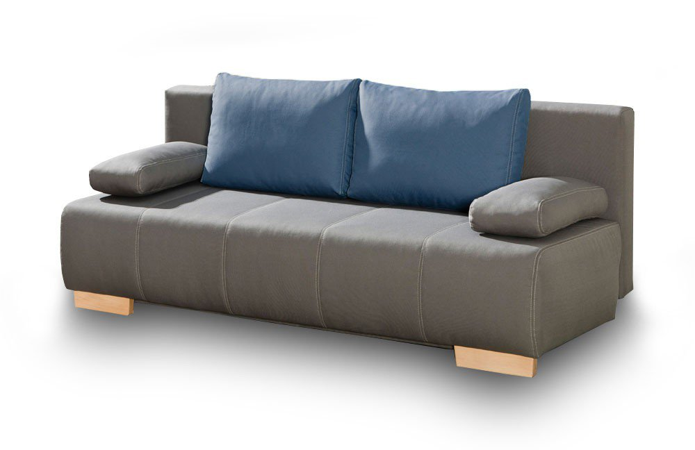 Schlafsofa Esslingen in grau von Select Style. Möbel Letz - Ihr ...