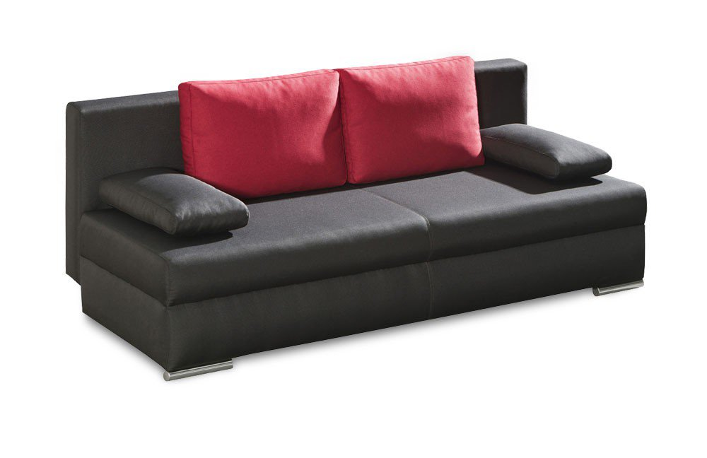 schlafsofa frankfurt in anthrazit von select style m bel letz ihr online shop. Black Bedroom Furniture Sets. Home Design Ideas