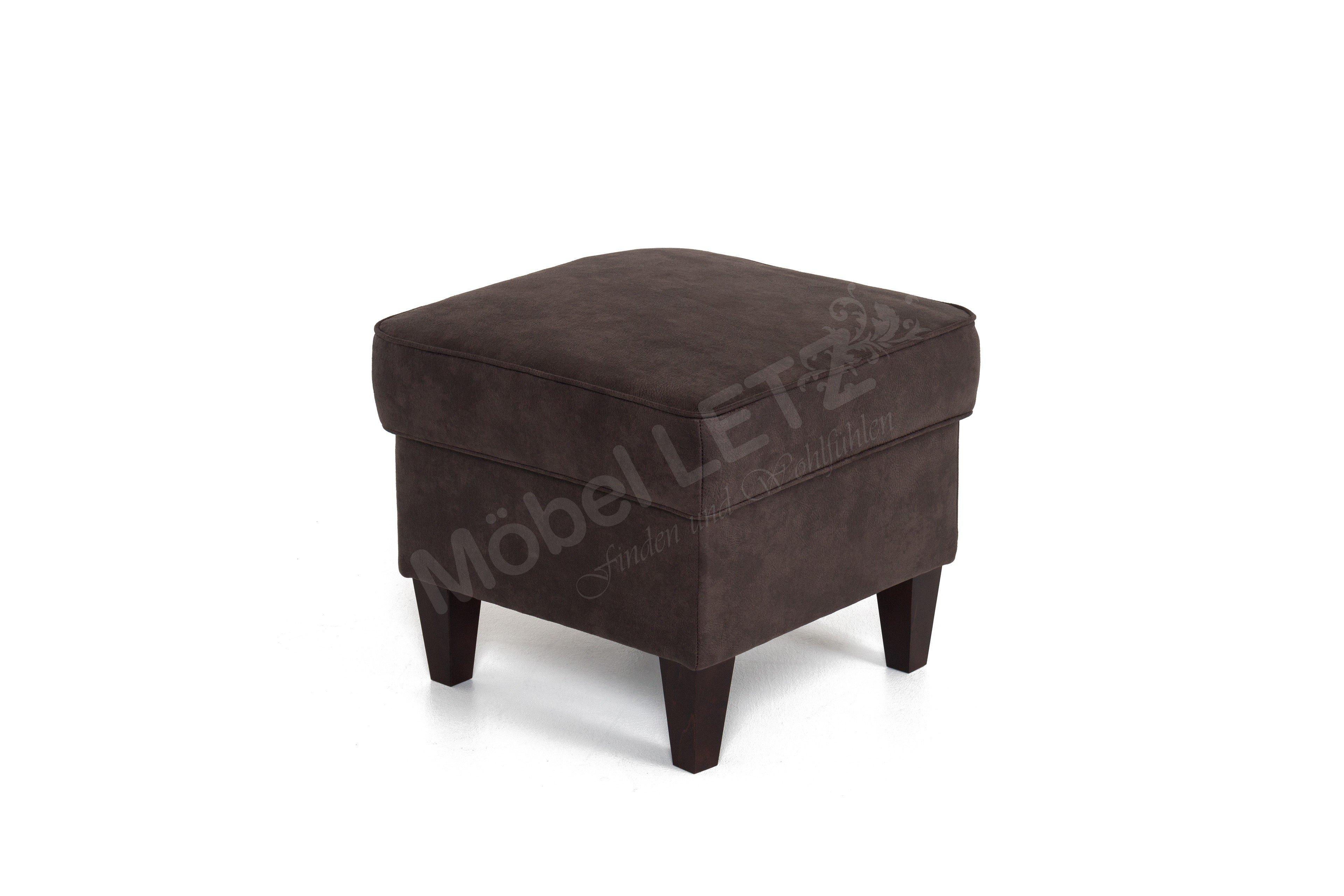 dfm polsterm bel sherman sessel braun m bel letz ihr online shop. Black Bedroom Furniture Sets. Home Design Ideas