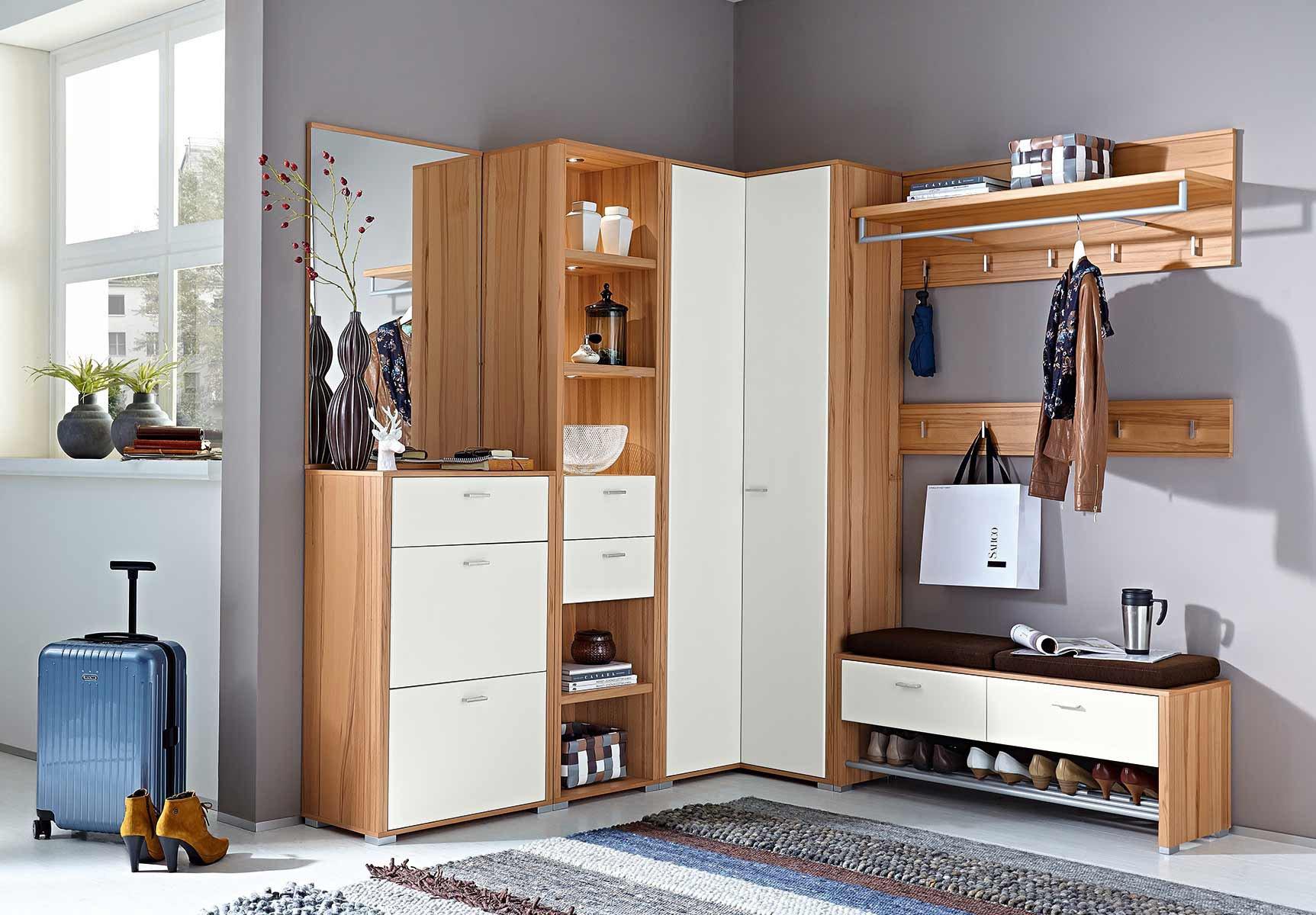 garderobe florenz von leinkenjost in lack wei. Black Bedroom Furniture Sets. Home Design Ideas