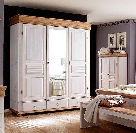 massivholz-schlafzimmer im landhausstil oslo/ alesund von euro, Schlafzimmer ideen