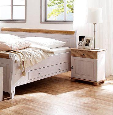 bett landhausstil gebraucht innenr ume und m bel ideen. Black Bedroom Furniture Sets. Home Design Ideas