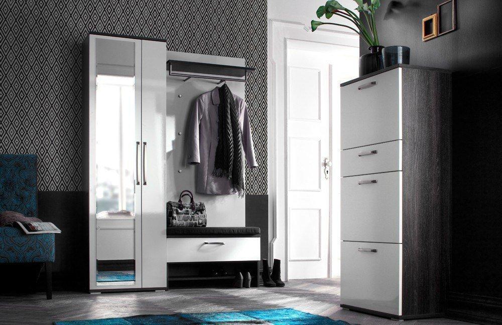 garderobe roubaix eiche wei von wittenbreder m bel letz ihr online shop. Black Bedroom Furniture Sets. Home Design Ideas