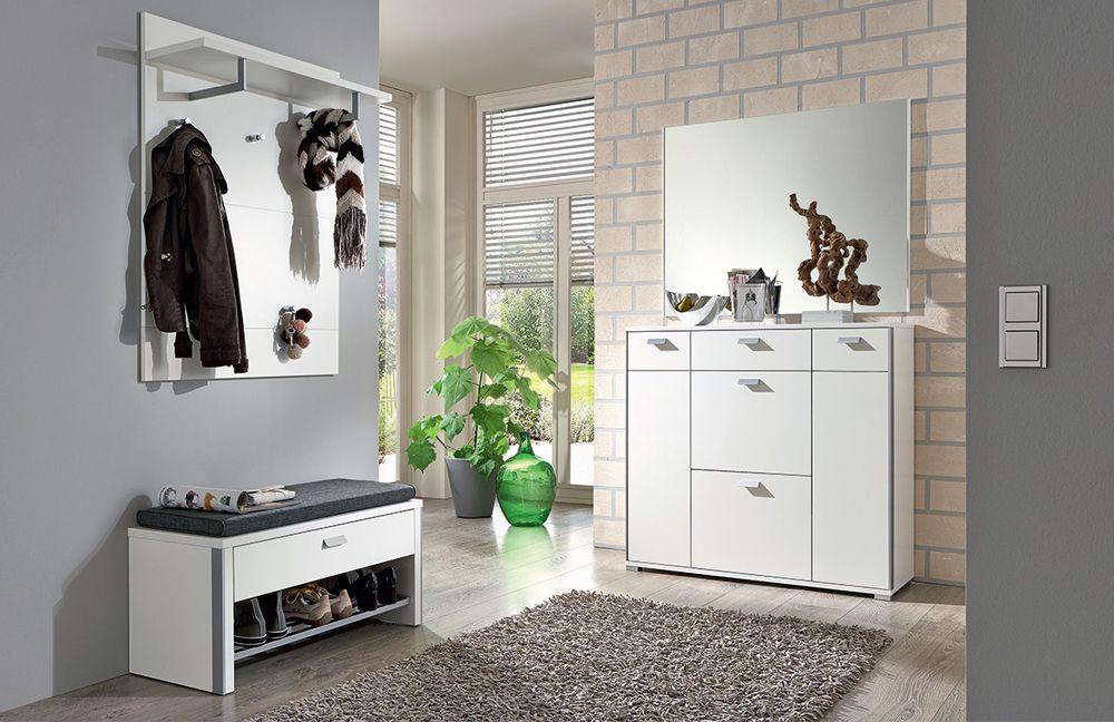 garderobe viola lack wei von voss m bel m bel letz. Black Bedroom Furniture Sets. Home Design Ideas