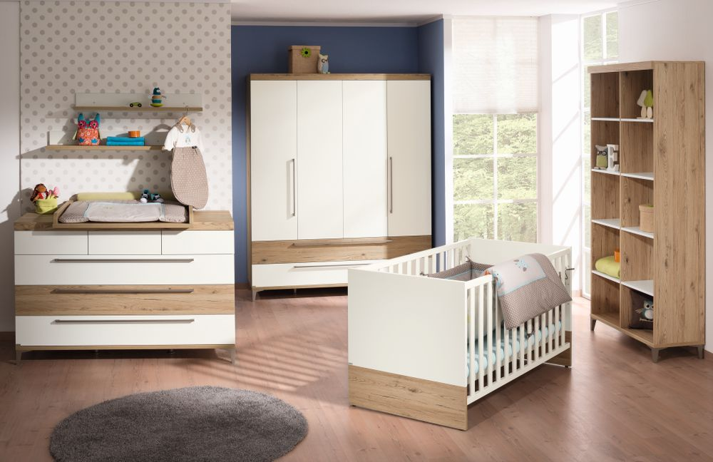 paidi babyzimmer remo kreidewei eiche m bel letz ihr online shop. Black Bedroom Furniture Sets. Home Design Ideas