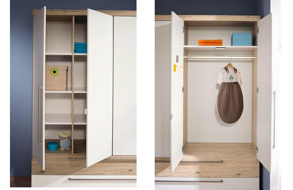 paidi babyzimmer remo kreidewei eiche m bel letz ihr online shop. Black Bedroom Furniture Sets. Home Design Ideas
