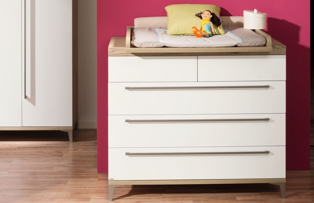paidi komplett babyzimmer remo wei eiche m bel letz ihr online shop. Black Bedroom Furniture Sets. Home Design Ideas