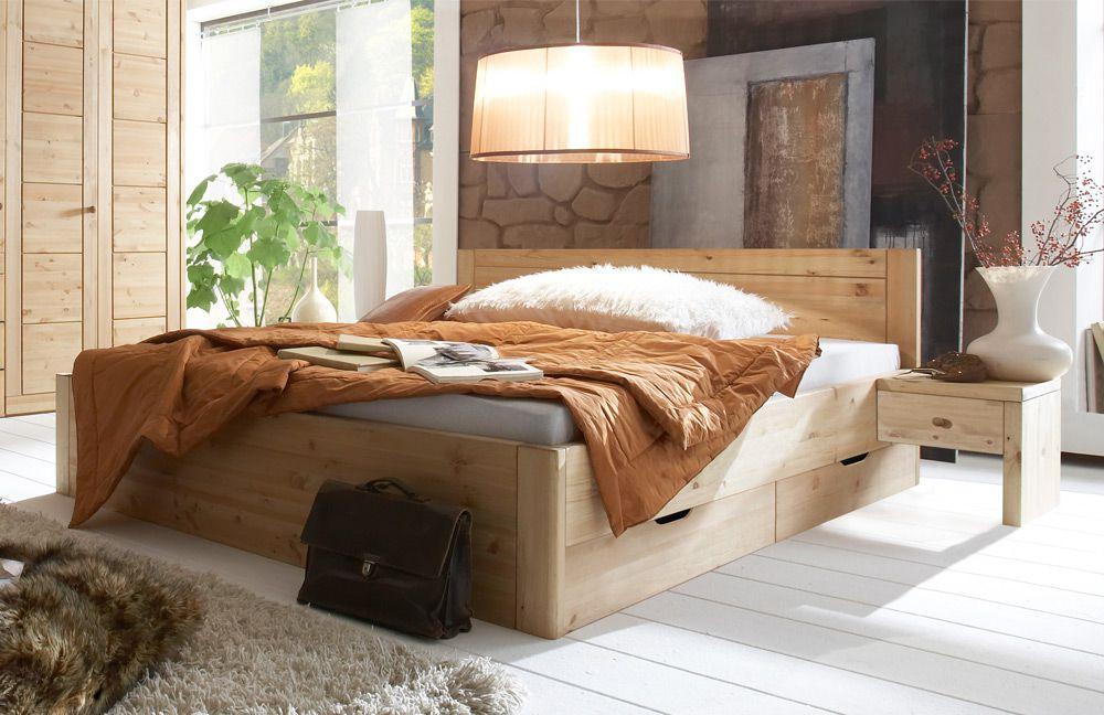 Wohn gl ck lich schlafzimmer set vita kiefer m bel letz - Wohn schlafzimmer ...