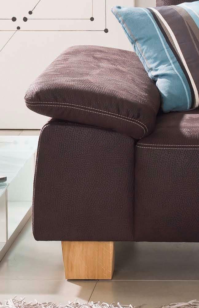 f s polsterm bel 2126 miami ecksofa braun m bel letz. Black Bedroom Furniture Sets. Home Design Ideas