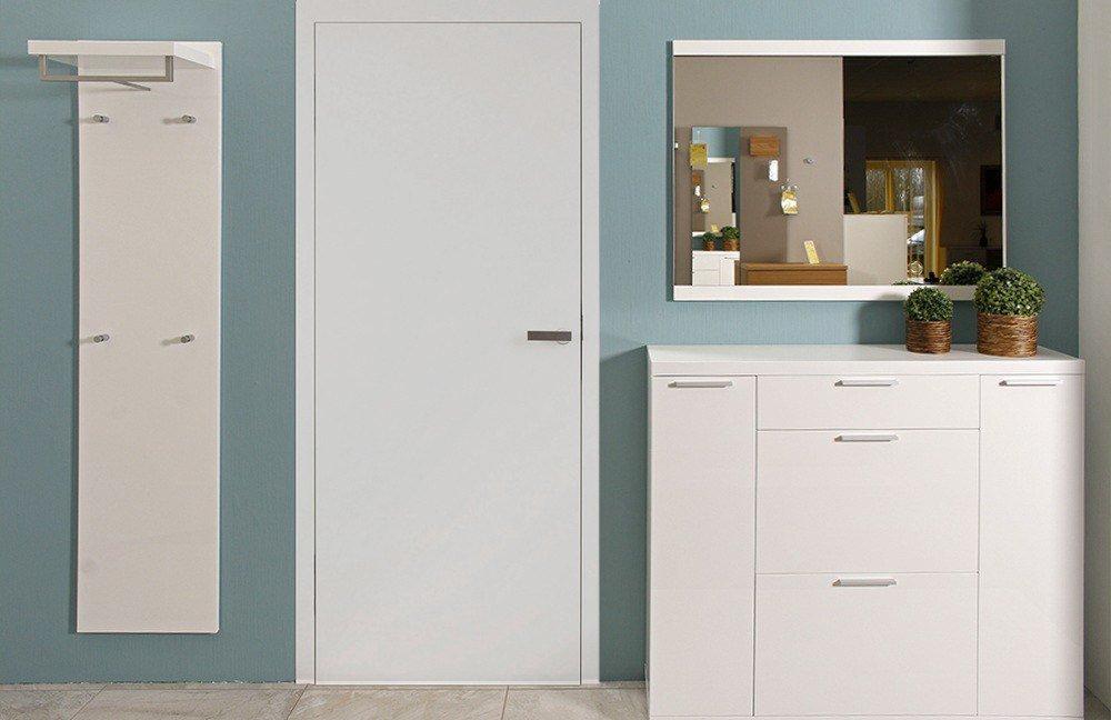 dielenschrank wei hochglanz dielenschrank wei massiv g nstig kaufen bei yatego. Black Bedroom Furniture Sets. Home Design Ideas