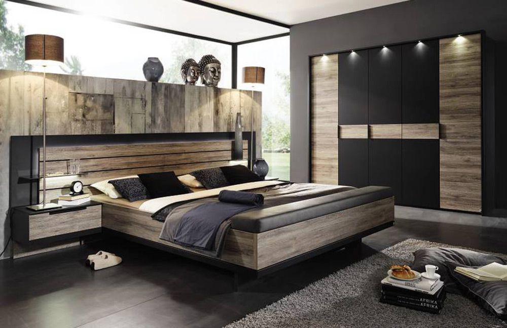 rauch steffen ventura schwarz matt m bel letz ihr online shop. Black Bedroom Furniture Sets. Home Design Ideas