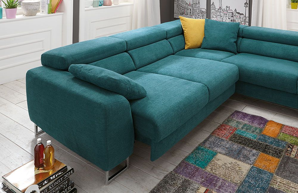 ecksofa petrol inspirierendes design f r wohnm bel. Black Bedroom Furniture Sets. Home Design Ideas
