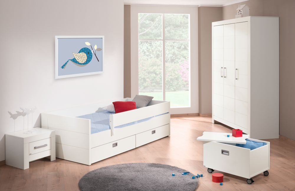 kinderzimmer fiona von paidi wei mit kassettenoptik m bel letz ihr online shop. Black Bedroom Furniture Sets. Home Design Ideas