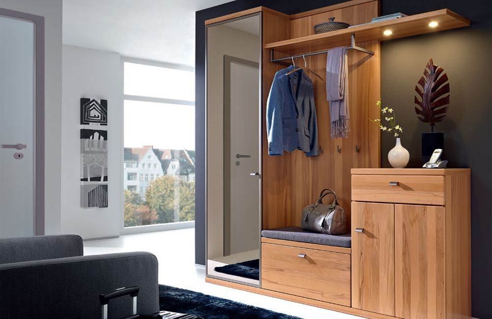 garderobe cento largo in teilmassiver kernbuche von rmw rietberger m bel letz ihr online shop. Black Bedroom Furniture Sets. Home Design Ideas