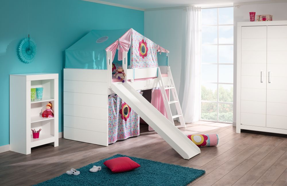 kinderzimmer fiona von paidi rutschen spielbett m bel letz ihr online shop. Black Bedroom Furniture Sets. Home Design Ideas