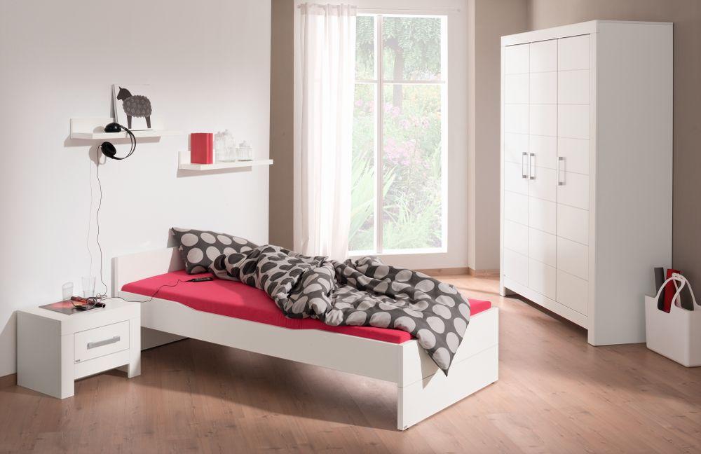 Jugendzimmer Fiona von Paidi - Kleiderschrank & Bett. Möbel Letz ...