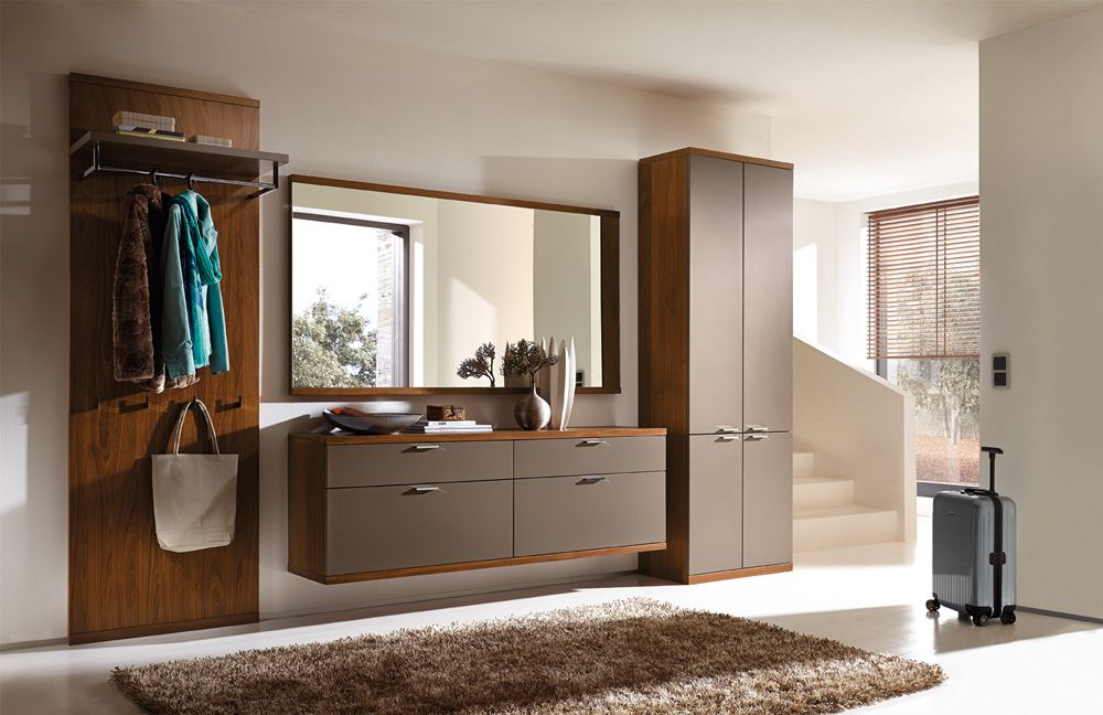 garderobe siena celesta z31418 in lack terra nussbaum. Black Bedroom Furniture Sets. Home Design Ideas
