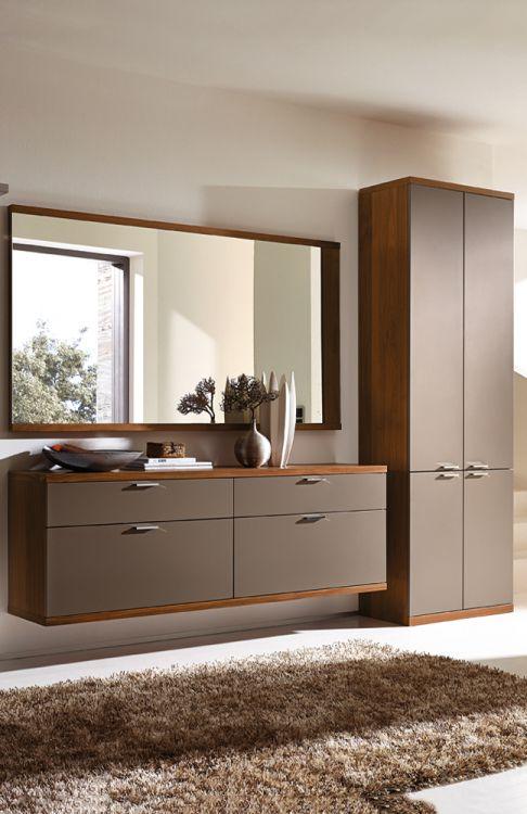 garderobe siena celesta z31418 in lack terra nussbaum. Black Bedroom Furniture Sets. Home Design Ideas