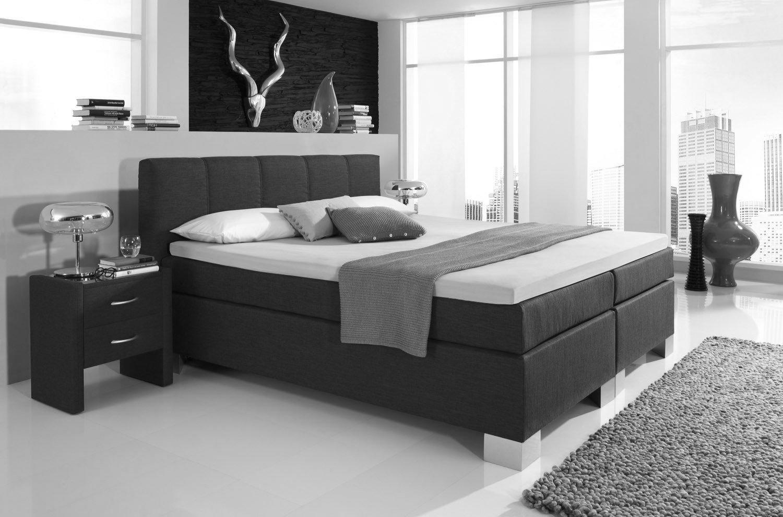 boxspringbett boston von hapo schlafm bel im modernen antrhazit m bel letz ihr online shop. Black Bedroom Furniture Sets. Home Design Ideas
