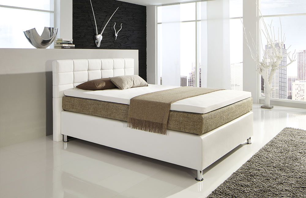 hapo boston boxspringbett ca 120 x 200 cm m bel letz ihr online shop. Black Bedroom Furniture Sets. Home Design Ideas