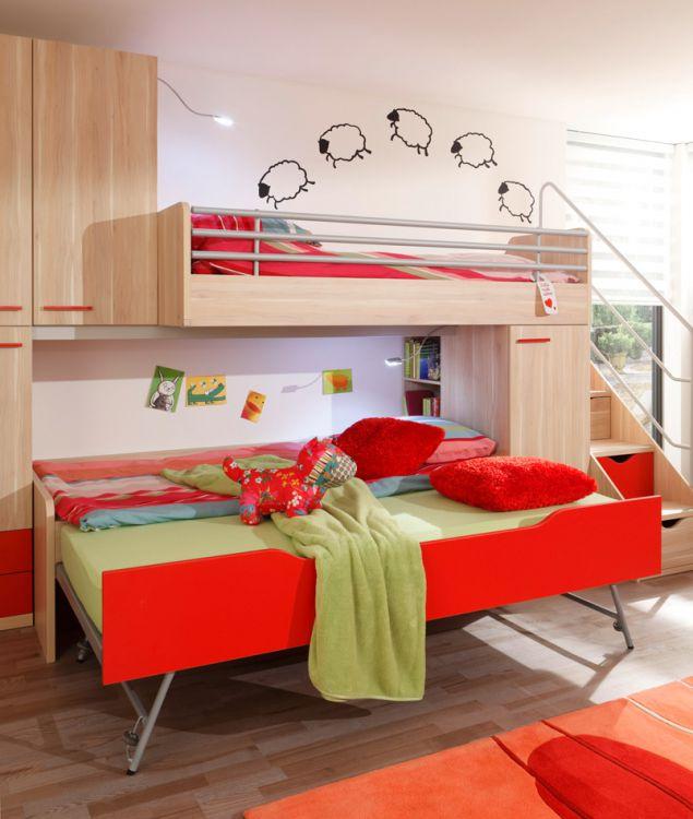 prenneis jugendzimmer e t two plus absetzung rot m bel letz ihr online shop. Black Bedroom Furniture Sets. Home Design Ideas