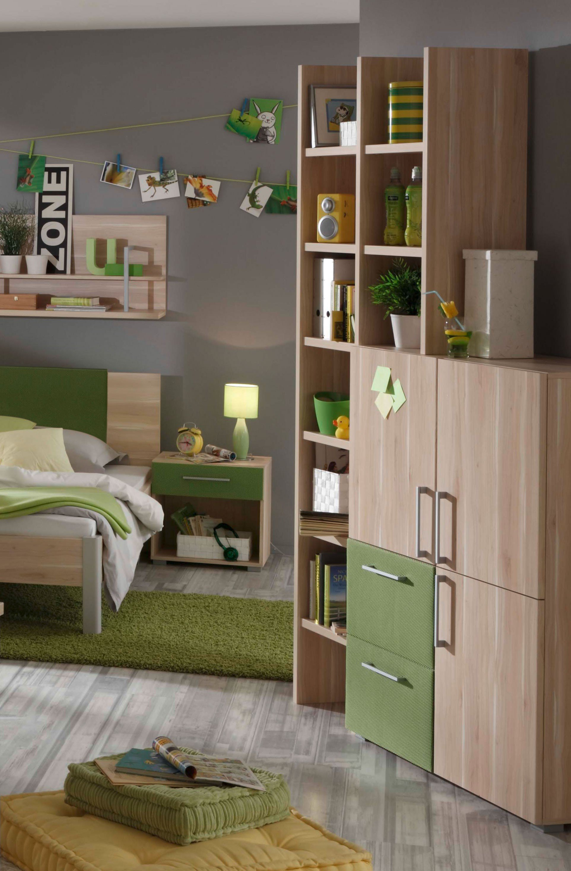prenneis jugendzimmer enduro plus apfelbaum gr n m bel letz ihr online shop. Black Bedroom Furniture Sets. Home Design Ideas