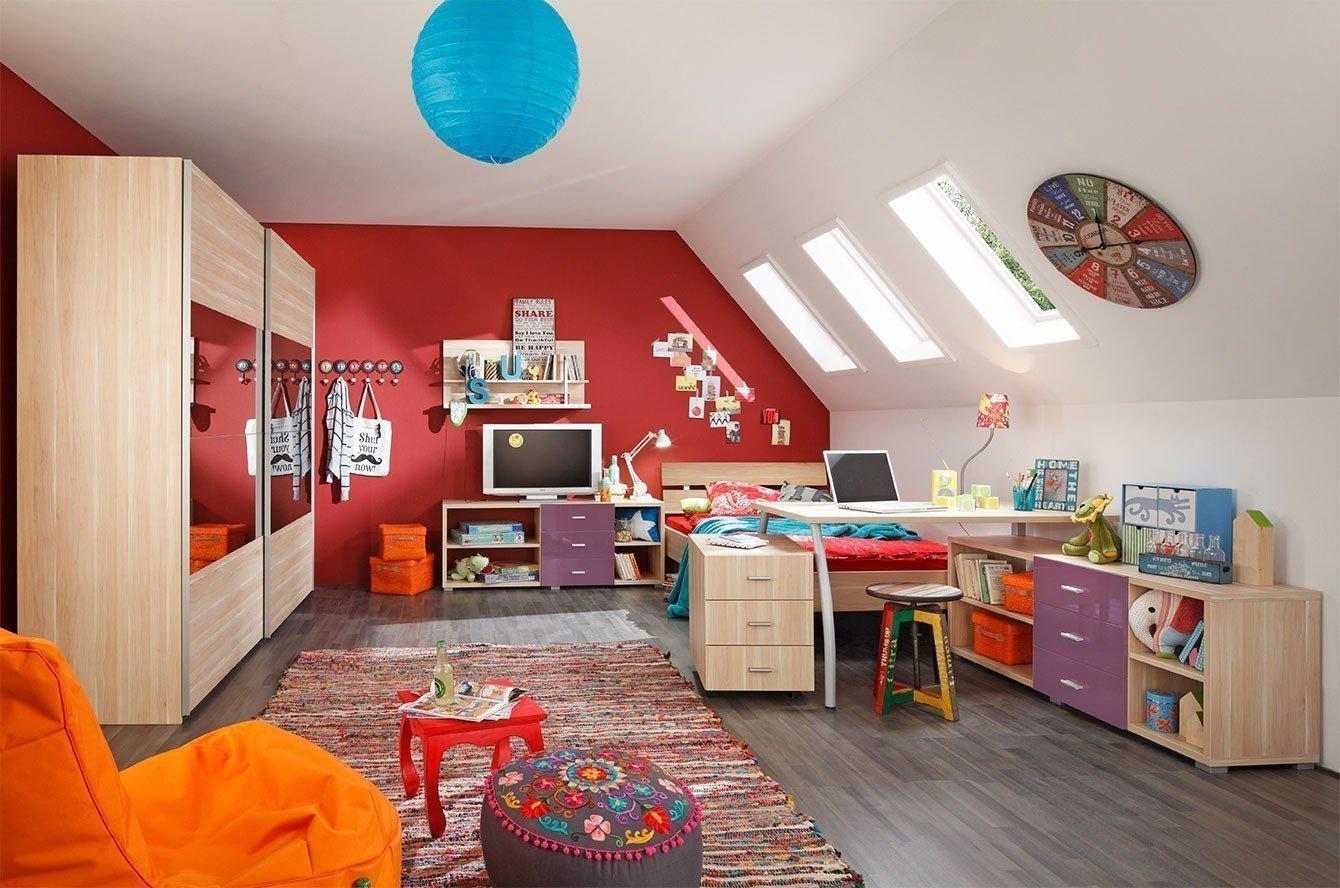 Welle Marius Jugendzimmer Buche blau | Möbel Letz - Ihr Online-Shop