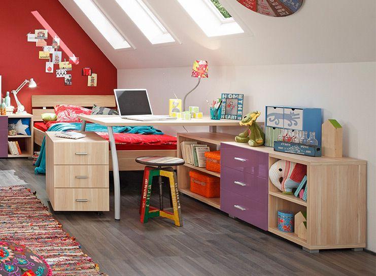 prenneis jugendzimmer kombiline plus apfelbaum m bel letz ihr online shop. Black Bedroom Furniture Sets. Home Design Ideas
