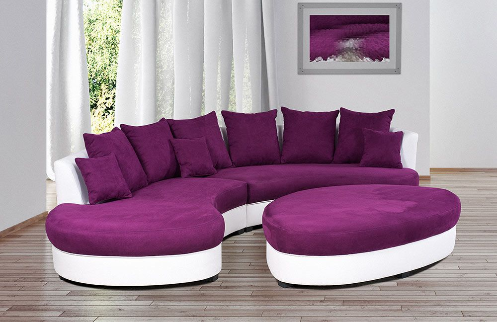 rundsofa m belideen. Black Bedroom Furniture Sets. Home Design Ideas