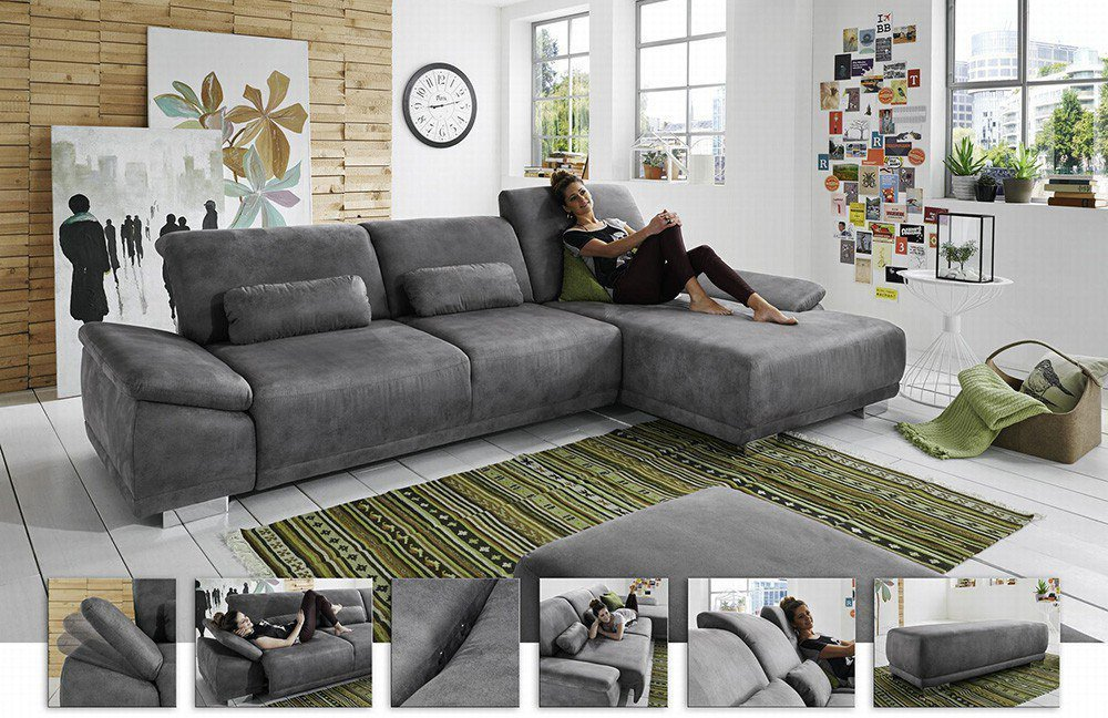 ecksofa affinity von megapol polsterm bel m bel letz ihr online shop. Black Bedroom Furniture Sets. Home Design Ideas