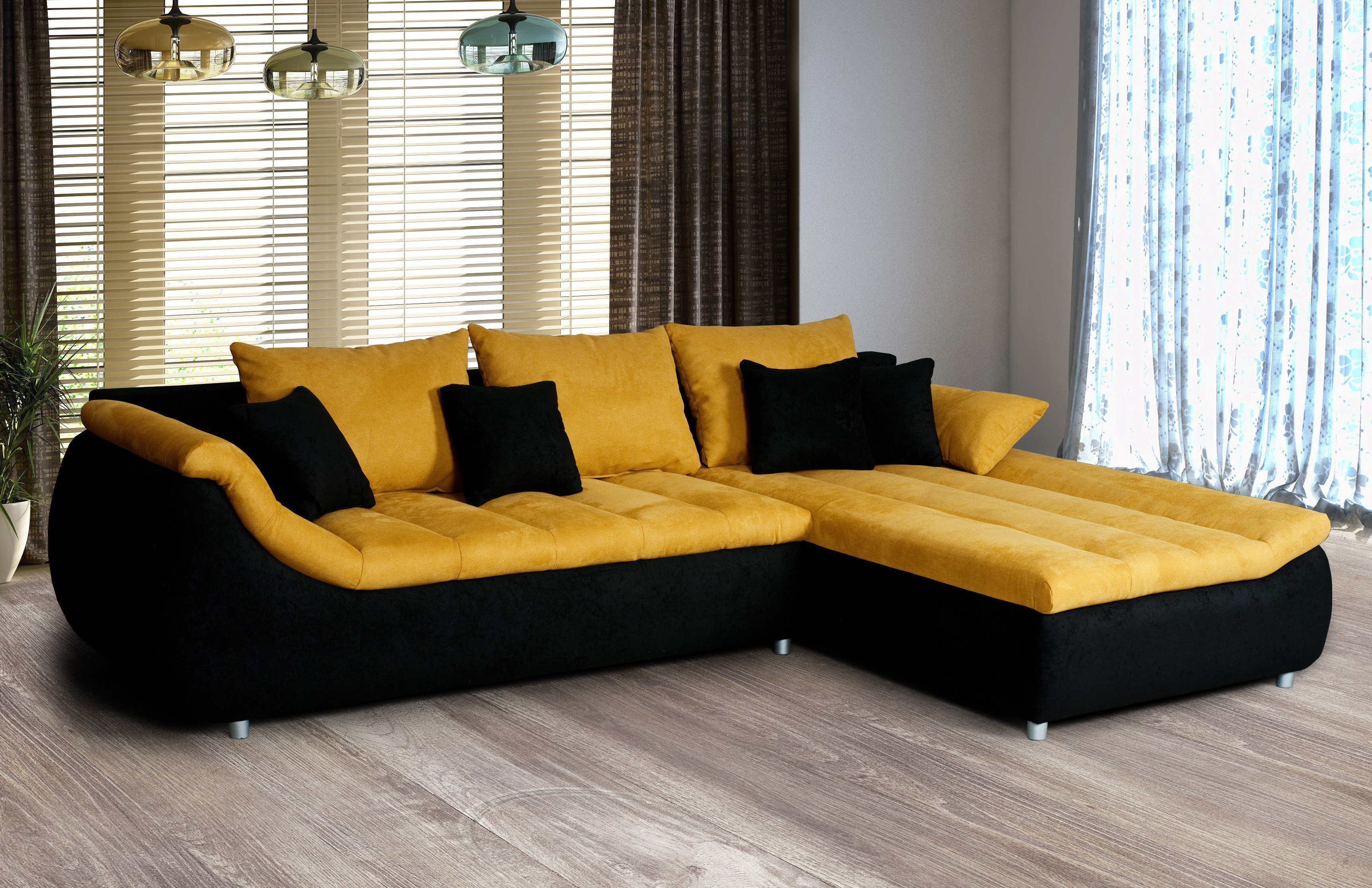 benformato rimanda sofa gelb m bel letz ihr online shop. Black Bedroom Furniture Sets. Home Design Ideas