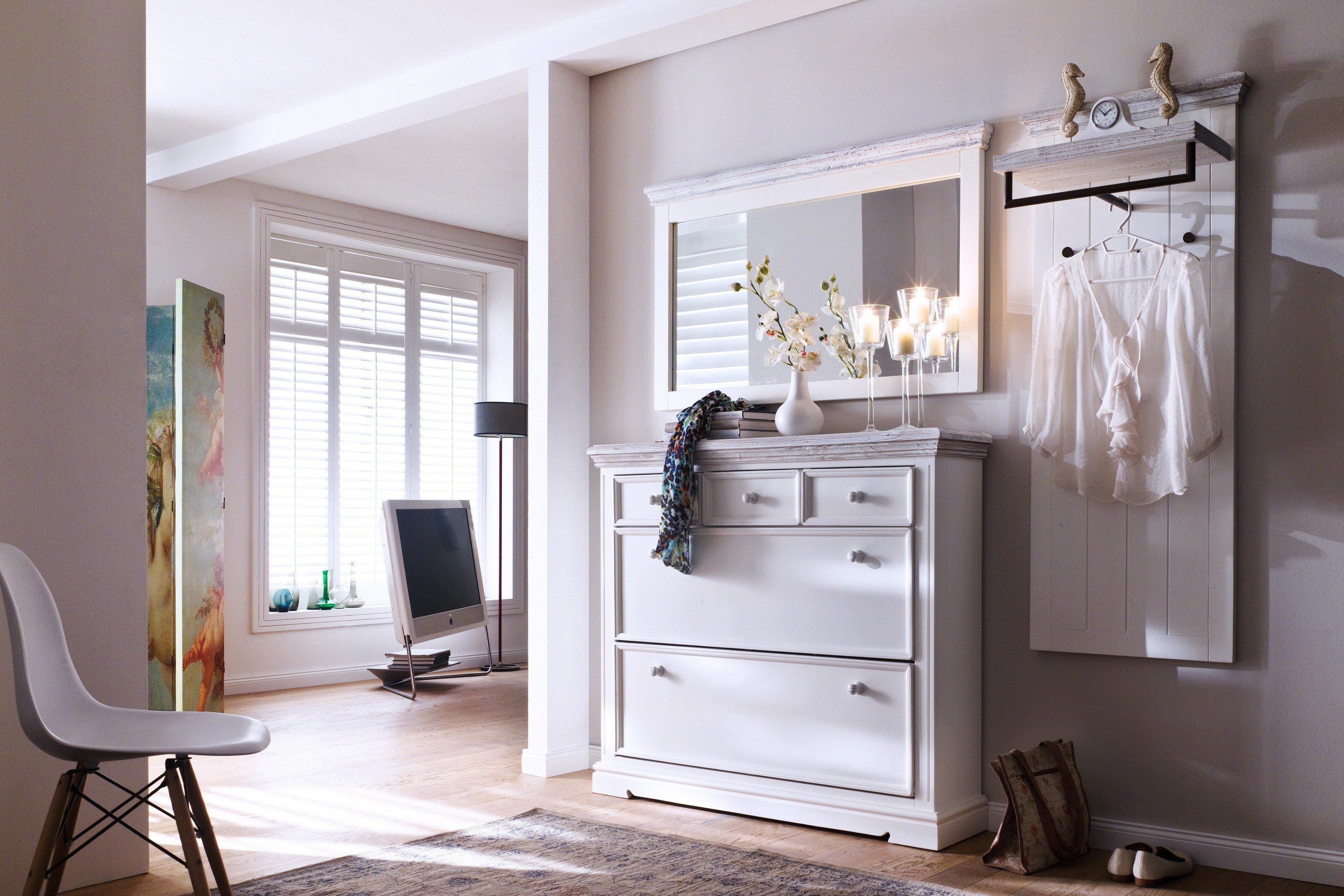 garderobe osita wei kiefer mca furniture m bel letz ihr online shop. Black Bedroom Furniture Sets. Home Design Ideas