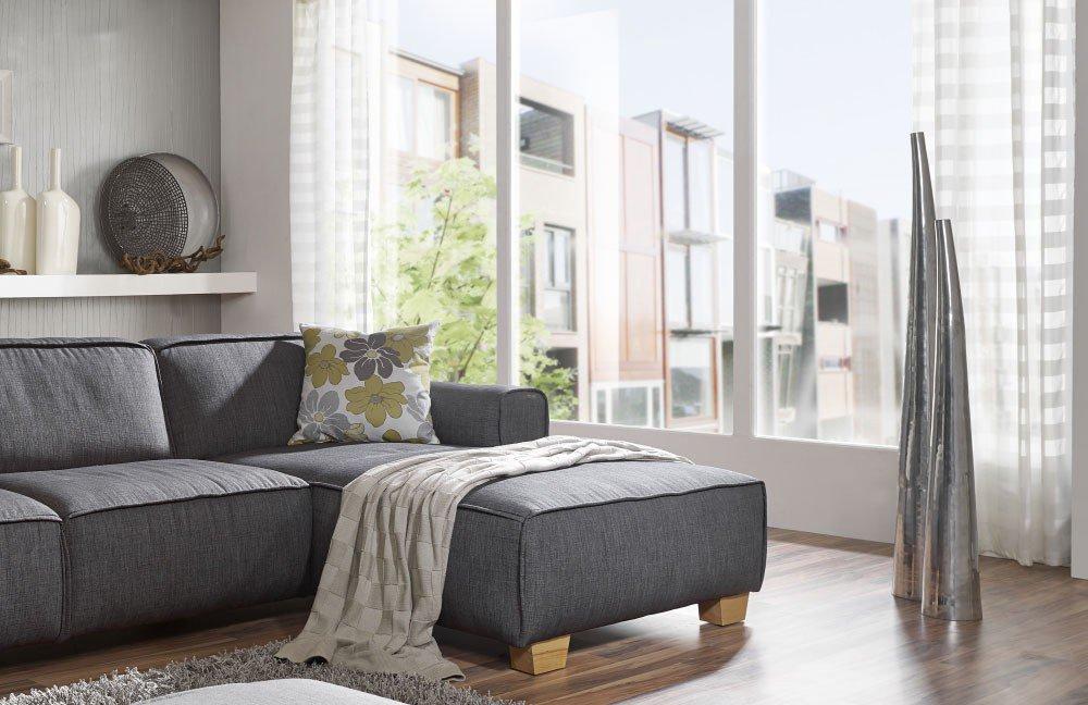 EMP Extasy 740 Ecksofa grau   Möbel Letz - Ihr Online-Shop
