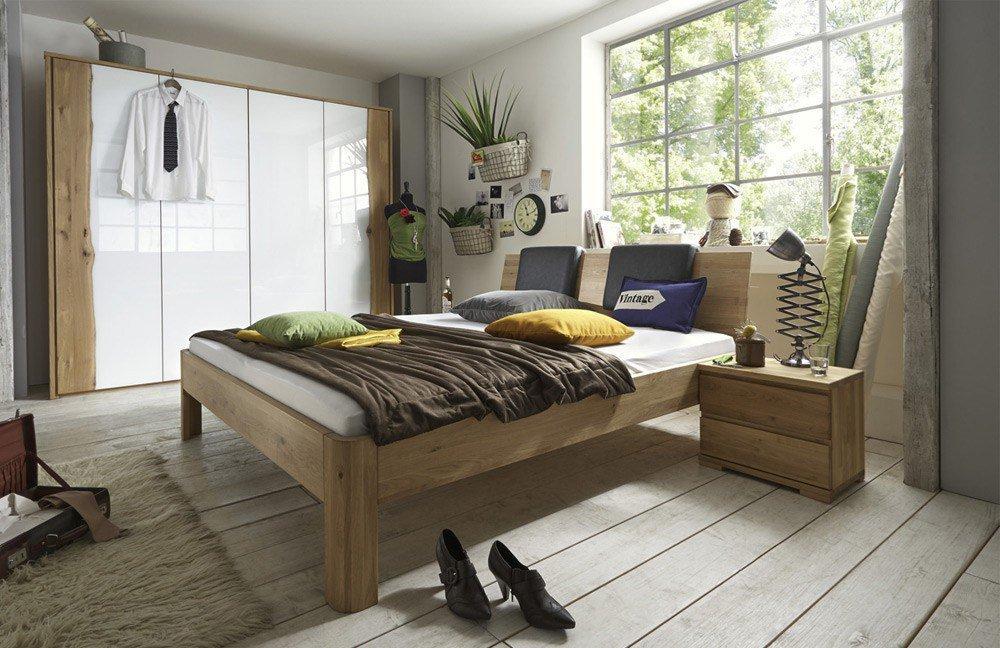 Massivholzmöbel schlafzimmer  m&h System C Schlafzimmer Wildeiche | Möbel Letz - Ihr Online-Shop