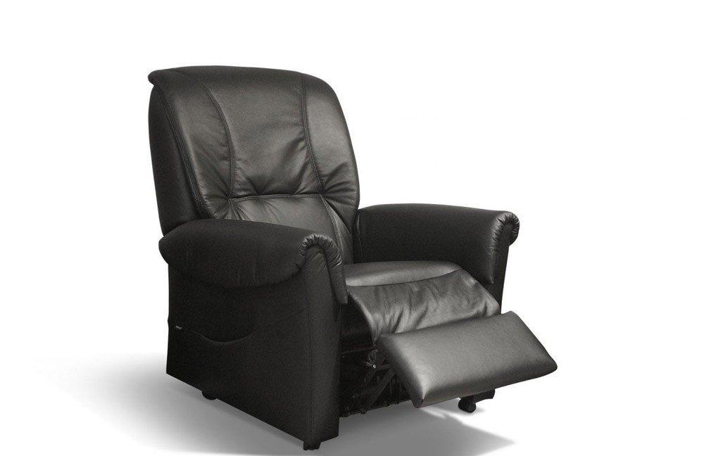 emp polsterm bel vitalus telstar 7840 relaxsessel schwarz. Black Bedroom Furniture Sets. Home Design Ideas