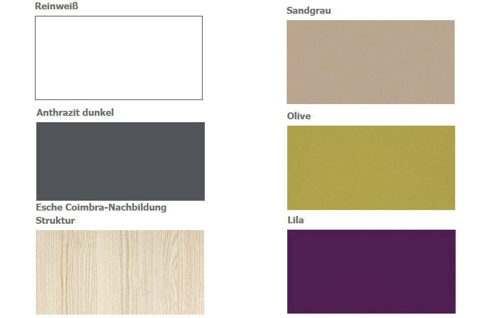 unlimited von welle jugendzimmer esche wei anthrazit m bel letz ihr online shop. Black Bedroom Furniture Sets. Home Design Ideas