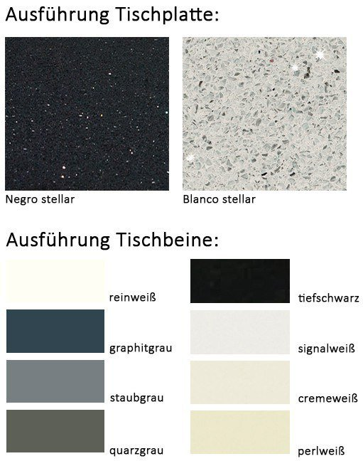 couchtisch stone in nickel matt negro stellar von eve collection m bel letz ihr online shop. Black Bedroom Furniture Sets. Home Design Ideas