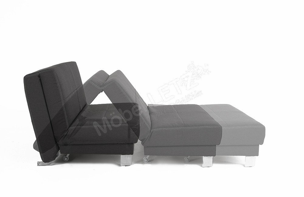 schlafsofa enzo von verholt in anthrazit gelb m bel letz ihr online shop. Black Bedroom Furniture Sets. Home Design Ideas