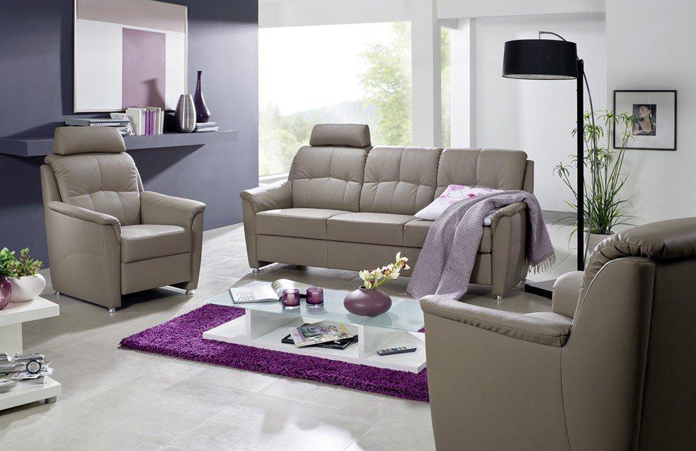 EMP Mosaik 880 Sofa grau   Möbel Letz - Ihr Online-Shop