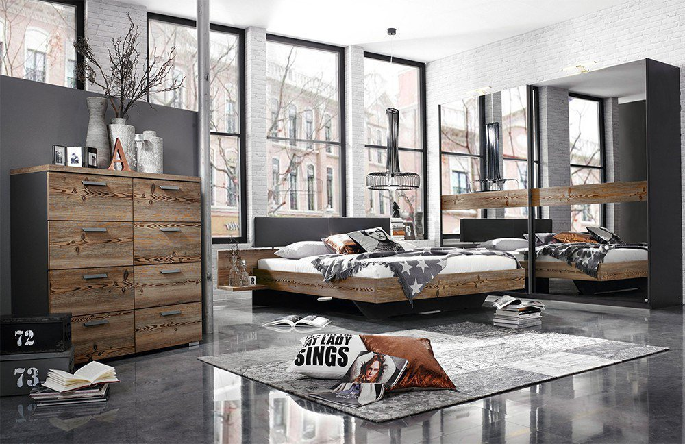 rauch montreal schlafzimmer l rche natur m bel letz ihr online shop. Black Bedroom Furniture Sets. Home Design Ideas