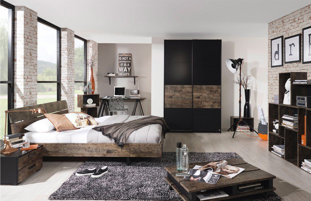 schlafzimmer sumatra von rauch select in schwarz m bel letz ihr online shop. Black Bedroom Furniture Sets. Home Design Ideas