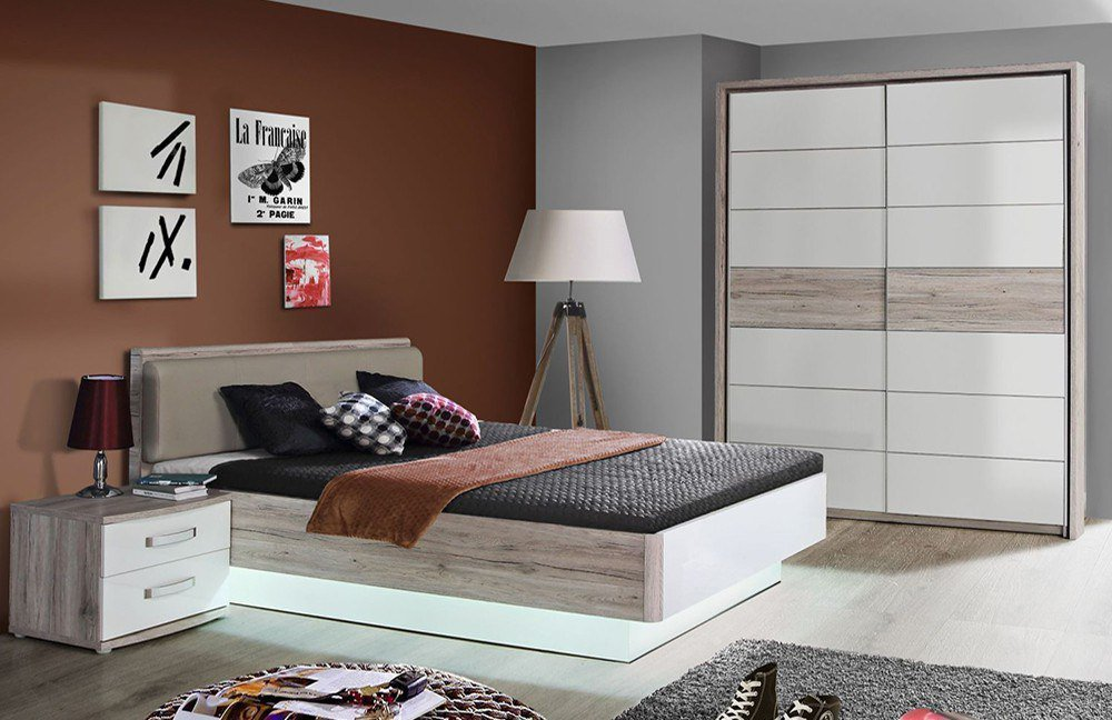 forte rondino jugendzimmer sandeiche wei m bel letz ihr online shop. Black Bedroom Furniture Sets. Home Design Ideas