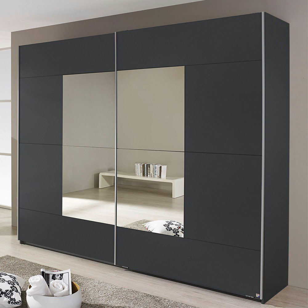 rauch crato schrank grau m bel letz ihr online shop. Black Bedroom Furniture Sets. Home Design Ideas