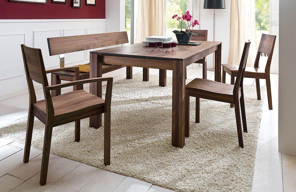 esstisch piano amerikanischer nussbaum von wimmer. Black Bedroom Furniture Sets. Home Design Ideas
