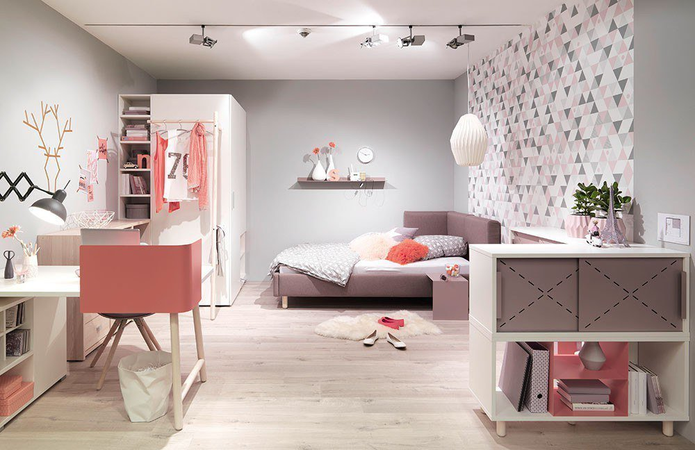 Jugendzimmer room x von wellem bel wei lavendel for Jugendzimmer shop