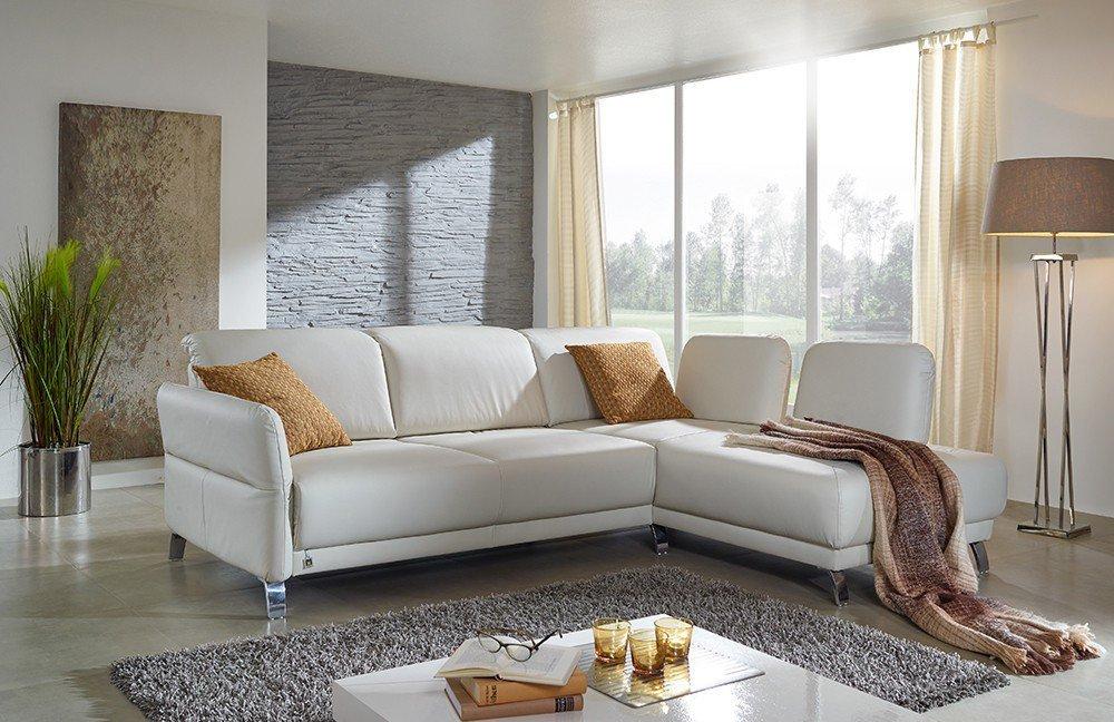 Dietsch Polstermöbel Time Ledergarnitur Weiß Möbel Letz Ihr